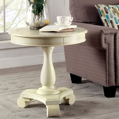 Verendrye End Table Finish: Antique White