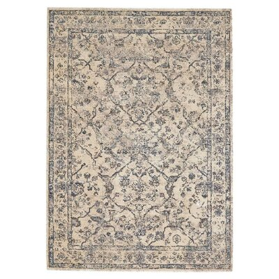 Bade Gray/Neutral Area Rug Size: Rectangle 92 x 122