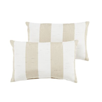 Elston Stripe Indoor/Outdoor Sunbrella Lumbar Pillow