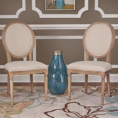 Alkasen Side Chair Upholstery: Linen