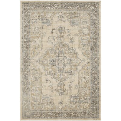 Kaitlyn Vintage Khaki Area Rug Rug Size: Rectangle 7 10 x 10 6