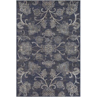 Blue Hill Navy Area Rug Rug Size: Rectangle 5 3 x 7 6