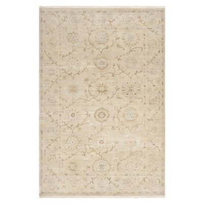 Ellsworth Parchment Area Rug Rug Size: Rectangle 56 x 86
