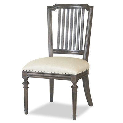 Southport Caf� Side Chair (Set of 2) Finish: Brownstone
