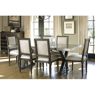 Southport Flatiron Dining Table Table Finish: Brownstone