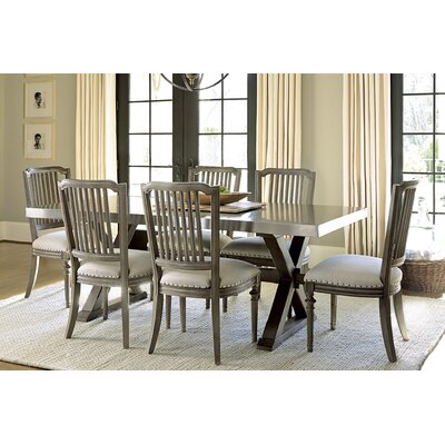 Southport Flatiron Dining Table Table Finish: Studio