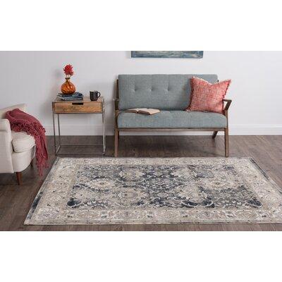 Korra Gray/Beige Area Rug Rug Size: 76 x 103