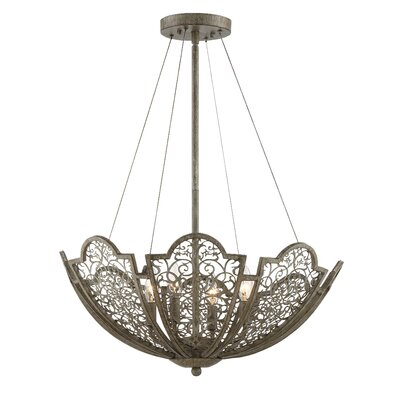 Camden 4-Light Bowl Pendant