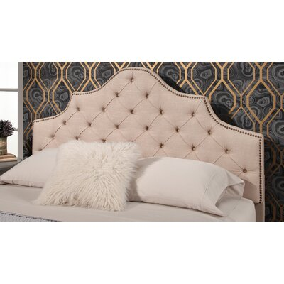 Lakeville Tufted Upholstered Panel Headboard Upholstery: Cream