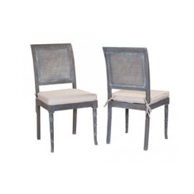 Halvar Side Chair Finish: Antique Smoke