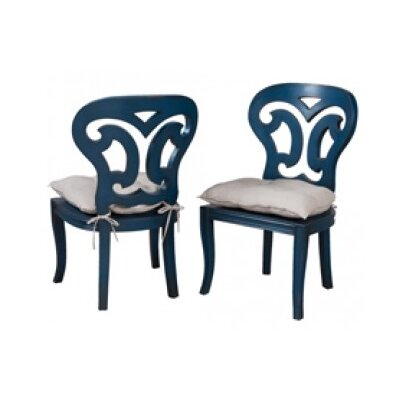 Vinalhaven Side Chair Finish: Symphony Blue
