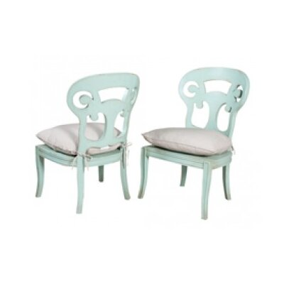 Emerson Side Chair Finish: Artisan Surf City