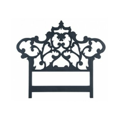 Olavo Carved King Open-Frame Headboard Size: 76 H x 87 W x 2 D