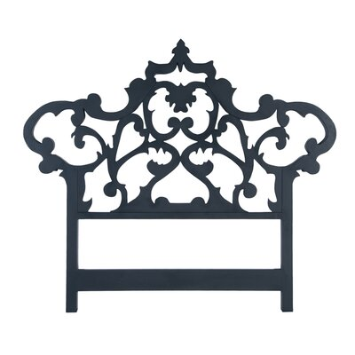 Olavo Carved King Open-Frame Headboard Size: 76 H x 83 W x 2 D