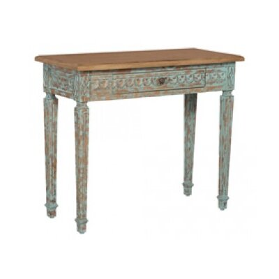 Noreen Console Table Finish: Surf City/Heavy Distress/Artisan Dark Stain