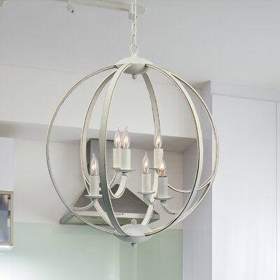Villeroy 6-Light Globe Pendant