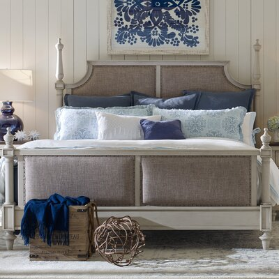 Bruyere Upholstered Panel Bed Size: California King
