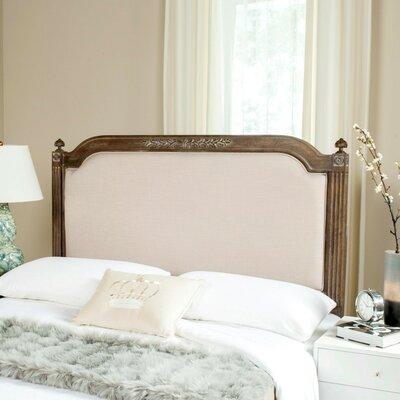 Oshields Upholstered Panel Headboard Size: Twin, Finish: Rustic Oak