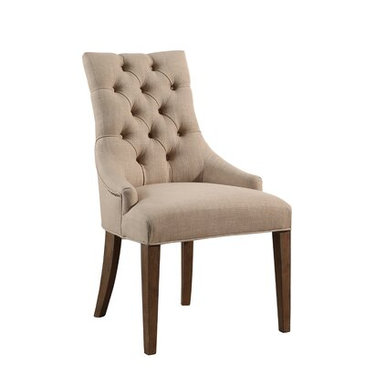 Osterhout Vintage Tufted Arm Chair