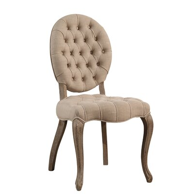 Osterhout Vintage Tufted Side chair