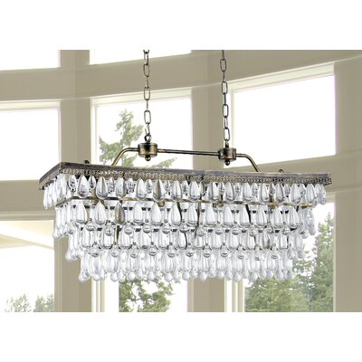 Bayonville 4-Light Crystal Chandelier