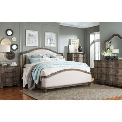 Michiel Upholstered Configurable Bedroom Set