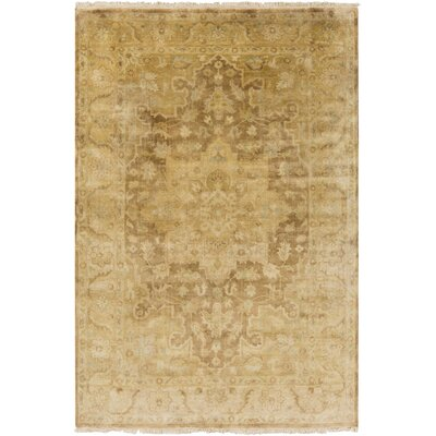 Otero Gold Area Rug Rug Size: Rectangle 2 x 3