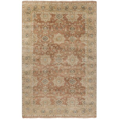 Otoole Salmon Area Rug Rug Size: Rectangle 56 x 86