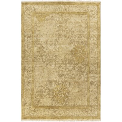 Otoole Gold Area Rug Rug Size: Rectangle 2 x 3