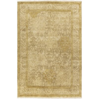 Otoole Gold Area Rug Rug Size: Rectangle 56 x 86