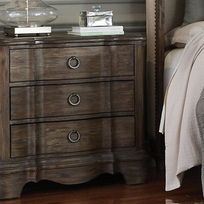 Osullivan 3 Drawer Nightstand