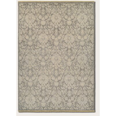 Loretta Grey/Tan Area Rug Rug Size: Rectangle 82 x 113