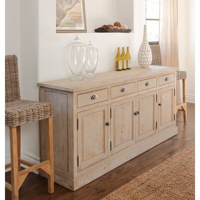 Elodie Sideboard Color: Vintage White
