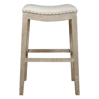 Padillo 30 inch Bar Stool Finish: Stone Wash