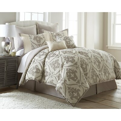 Paine 8 Piece Comforter Set Size: Queen