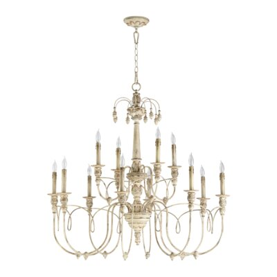 Paladino 12-Light Candle-Style Chandelier