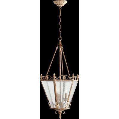 Paladino 3-Light Foyer Pendant Finish: French Umber