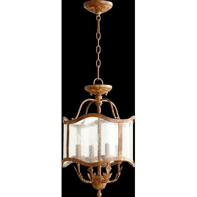 Paladino 4-Light Pendant Finish: French Umber