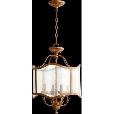 Paladino 4-Light Candle-Style Chandelier Finish: French Umber