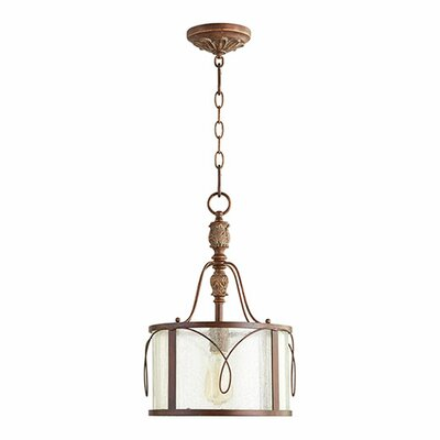 Paladino 1-Light Foyer Drum Pendant