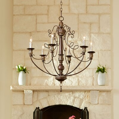 Paladino 6-Light Candle-Style Chandelier