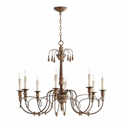 Paladino 8-Light Candle-Style Chandelier