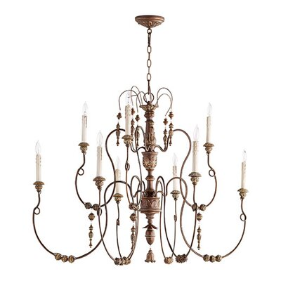 Paladino 9-Light Candle-Style Chandelier