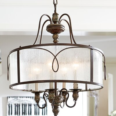 Paladino 4-Light Drum Pendant