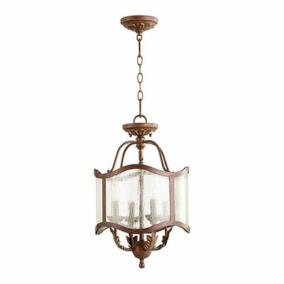 Paladino 4-Light Drum Chandelier Size: 20.5 H x 13 W