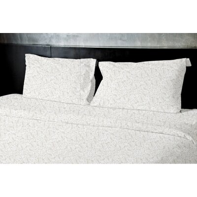 Plante Duvet Set Size: Queen, Color: Tan