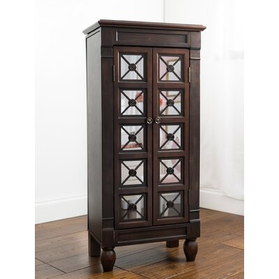 Plath Jewelry Armoire Color: Espresso