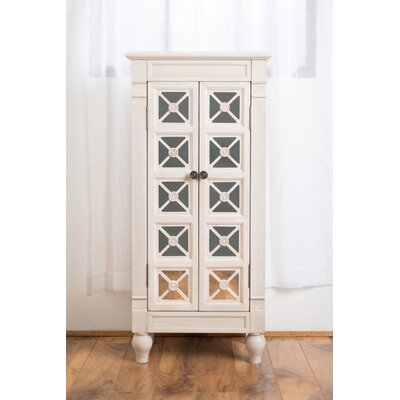 Plath Jewelry Armoire Finish: Century White