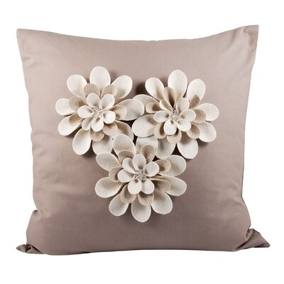 Platt Cotton Throw Pillow
