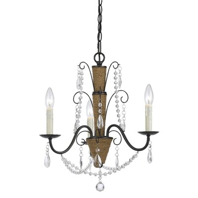 Plotinus 3-Light Candle-Style Chandelier